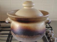 玄米を入れて炊く土鍋ごはん
